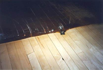 Gymnasium Wood Floor Sanding And Sealing And Refurbishment