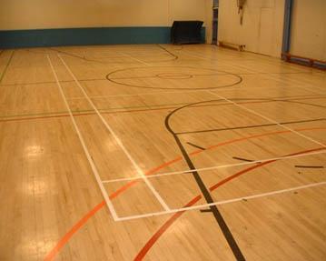 Sports Hall And Gymnasium Wood Floor Sanding And Sealing